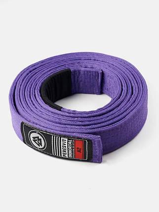 Пояс для кімоно Peresvit BJJ Belt Purple, фото 2