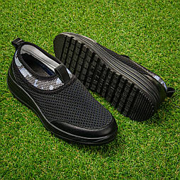 Кроссовки женские сетчатые Tellus 26-21BBL  черные