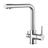 Смеситель для кухни IBERGRIF M22109 с выходом для питьевой воды