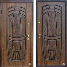 Дверь входная металлическая ABWEHR, 209 Massandra, Vinorit, Дуб золотой Патина, 850x2050, левая