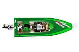 Катер на радиоуправлении Fei Lun FT009 High Speed Boat (зеленый), фото 4