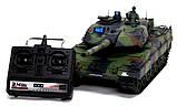 Танк р/у 2.4GHz 1:16 Heng Long Leopard II A6 с пневмопушкой и дымом (HL3889-1), фото 5