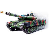 Танк р/у 2.4GHz 1:16 Heng Long Leopard II A6 с пневмопушкой и дымом (HL3889-1), фото 7