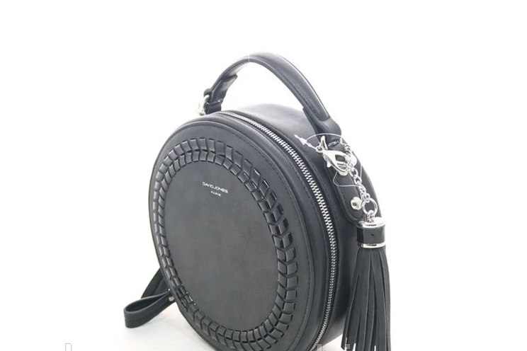 Жіноча сумка на плече David Jones (403) black
