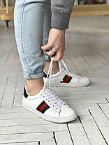 """Кроссовки Gucci """"Белые"""", фото 2"""