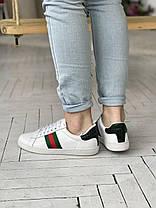 """Кроссовки Gucci """"Белые"""", фото 3"""