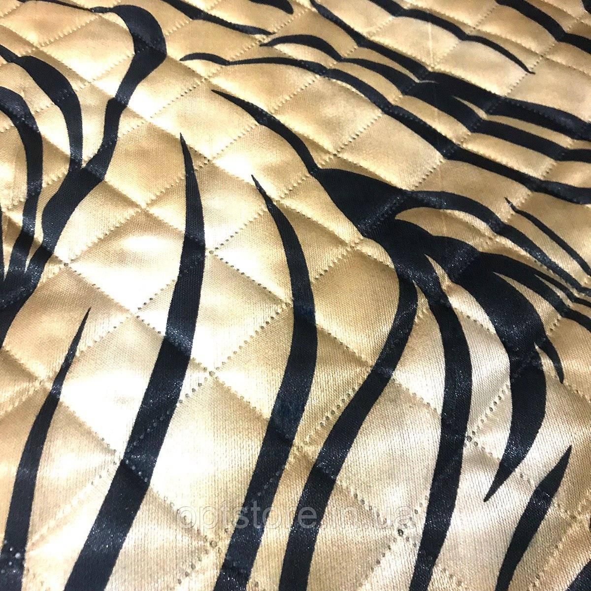 Атласне літній ковдра-покривало євро розмір 195/205 см