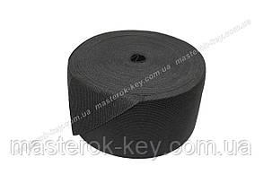 Резинка текстильная 9см Турция цвет черный