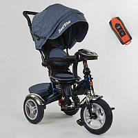 Трехколесный велосипед для детей с родительской ручкой 5890 / 84-710 Best Trike, Надувные колеса