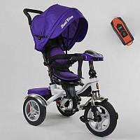 Трехколесный велосипед для детей с родительской ручкой 5890 / 85-975 Best Trike, Надувные колеса