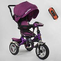 Трехколесный велосипед для детей с родительской ручкой 5890 / 86-315 Best Trike, Надувные колеса