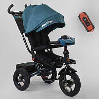 Трехколесный велосипед для детей с родительской ручкой 6088 F - 02-940 Best Trike, Надувные колеса