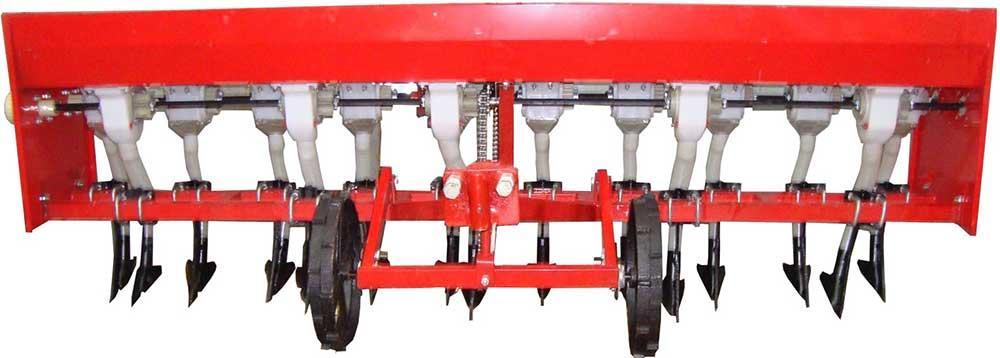 Сеялка зерновая 2BJ-10  СЗ-10З  к  мототрактору  10-  рядный  без минудобрений