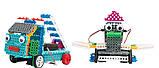 Конструктор STEM с пультом HIQ R722 4-в-1 (паровозик, машинка, лыжник, робот), фото 2
