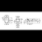 Биде подвесное Roca INSPIRA ROUND A357525000, фото 3