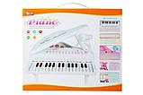 """Детское пианино синтезатор Baoli """"Маленький музикант"""" с микрофоном 31 клавиша (белый), фото 3"""
