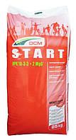 Органо-мінеральне добриво для газона DCM Start, 25кг, 18.3.3+ME