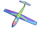 Планер метательный J-Color Falcon 600мм c комплектом красок, фото 6