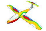 Планер метательный J-Color Falcon 600мм c комплектом красок, фото 7