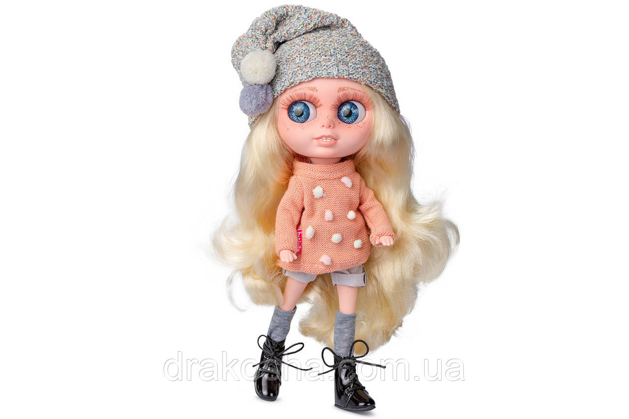 Кукла Berjuan БИГГЕРС 32 см (CHERRY COLLINS)