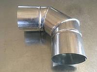 Отвод 90*вентиляционный, диаметр 120 мм., круглый, оцинковка 0,5 мм