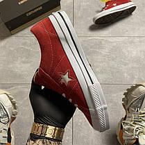 """Кеды Converse One Star """"Красные"""", фото 2"""