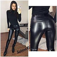 Женские штаны, экокожа  S/M/L, фото 1