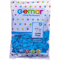 """Шарики 10 пастель """"Светло голубые"""" G90/09 9091 купить оптом в интернет магазине"""