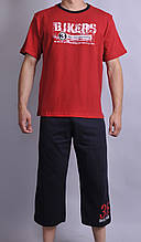 Мужская пижама  Natural Club 1002 L Красный