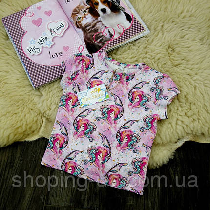 Детская футболка русалки Five Stars KD0203-104p, фото 2