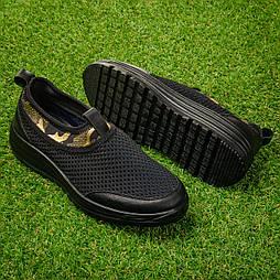 Кроссовки женские сетчатые Tellus 26-21BGO  черные