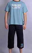Мужская пижама Natural Club 1002 XL Берюзовый