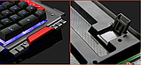 Комплект клавиатура и мышь игровая проводная клавиатура с мышкой и LED подсветкой K33, фото 7