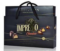 Подарочный набор шоколадных конфет «Impresso», черный 424 гр