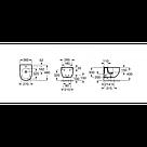 Биде подвесное Roca MERIDIAN-N A357246000, фото 2
