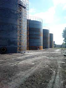 Изгототовление резервуаров на складе КАС 8
