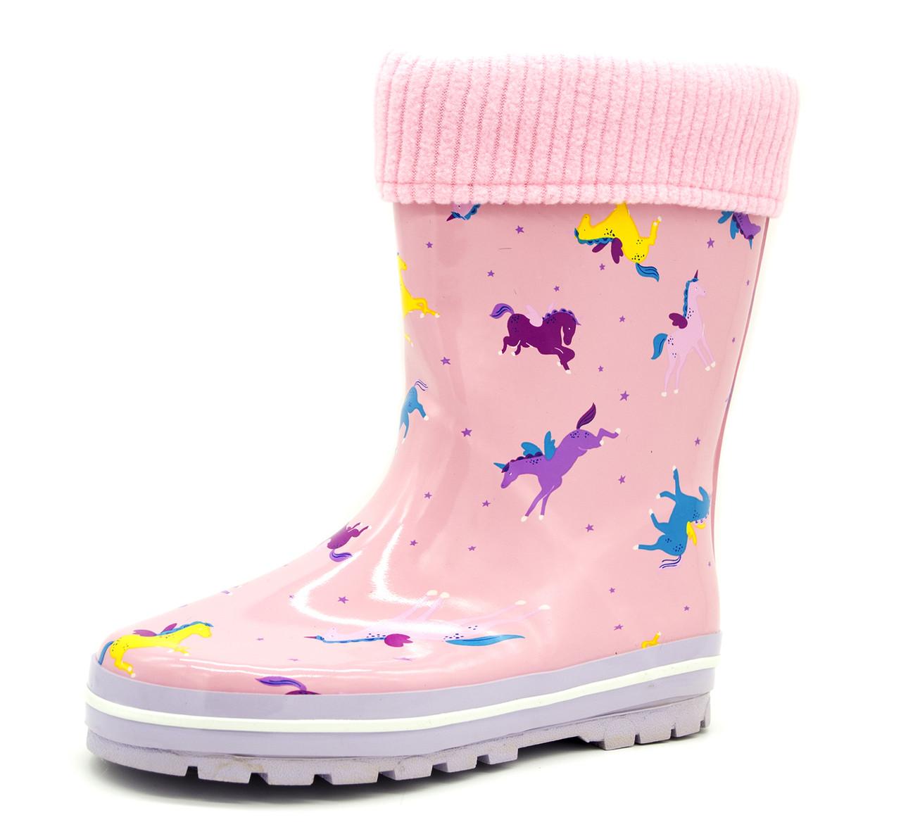 Резиновые сапоги Для девочек Розовый