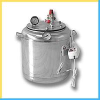 Автоклав А 8 электро ( 7 банок- 1л 8 банок-0.5 л) из нержавеющей стали