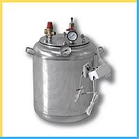 Автоклав электро ( 7 банок- 1л 16 банок-0.5 л) из нержавеющей стали