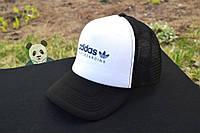 Черная кепка тракер Adidas Skateboarding / адидас