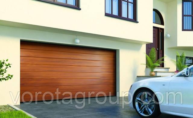 гаражные ворота alutech prestige