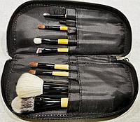 Набор кистей для макияжа 9 штук в чехле, фото 1