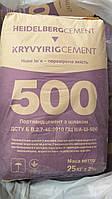 Портланд Цемент М-500 ПЦ ІІ/А, завод.упаковка, 25 кг