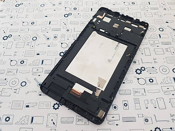 Дисплей Lenovo Tab 3 7 Plus TB-7703X модуль в сборе черный Сервисный оригинал з разборки