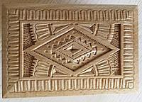 Виріб шкатулка з дерева Бук сувенірна різьблена авторська ручна робота розмір 14*10*7.5 см, фото 1
