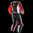 Мотокомбинезон Dainese Mistel 2PC Black/Red/White, фото 2