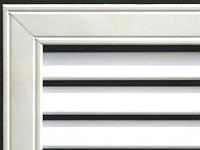 Решетка радиаторная под гипсокартон 30х60 см, на батареи отопления