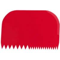 """Скребок пластиковый кондитерский """"Paderno"""" (14,5х9,9 см)"""