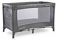 Кровать-манеж Caretero Basic Детская кровать (Графит)
