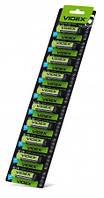 Videx лужна Батарейка LR6/AA 10x1pcs відривний blister card 100 шт/уп